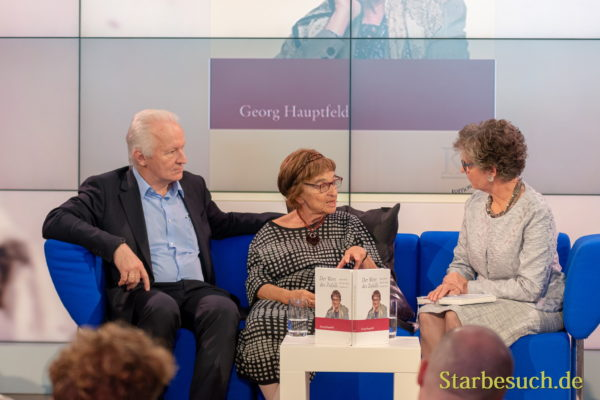 Georg Hauptfeld (Autor) Agnes Heller (Zeitzeugin) and Susanne Biedenkopf (Moderation)