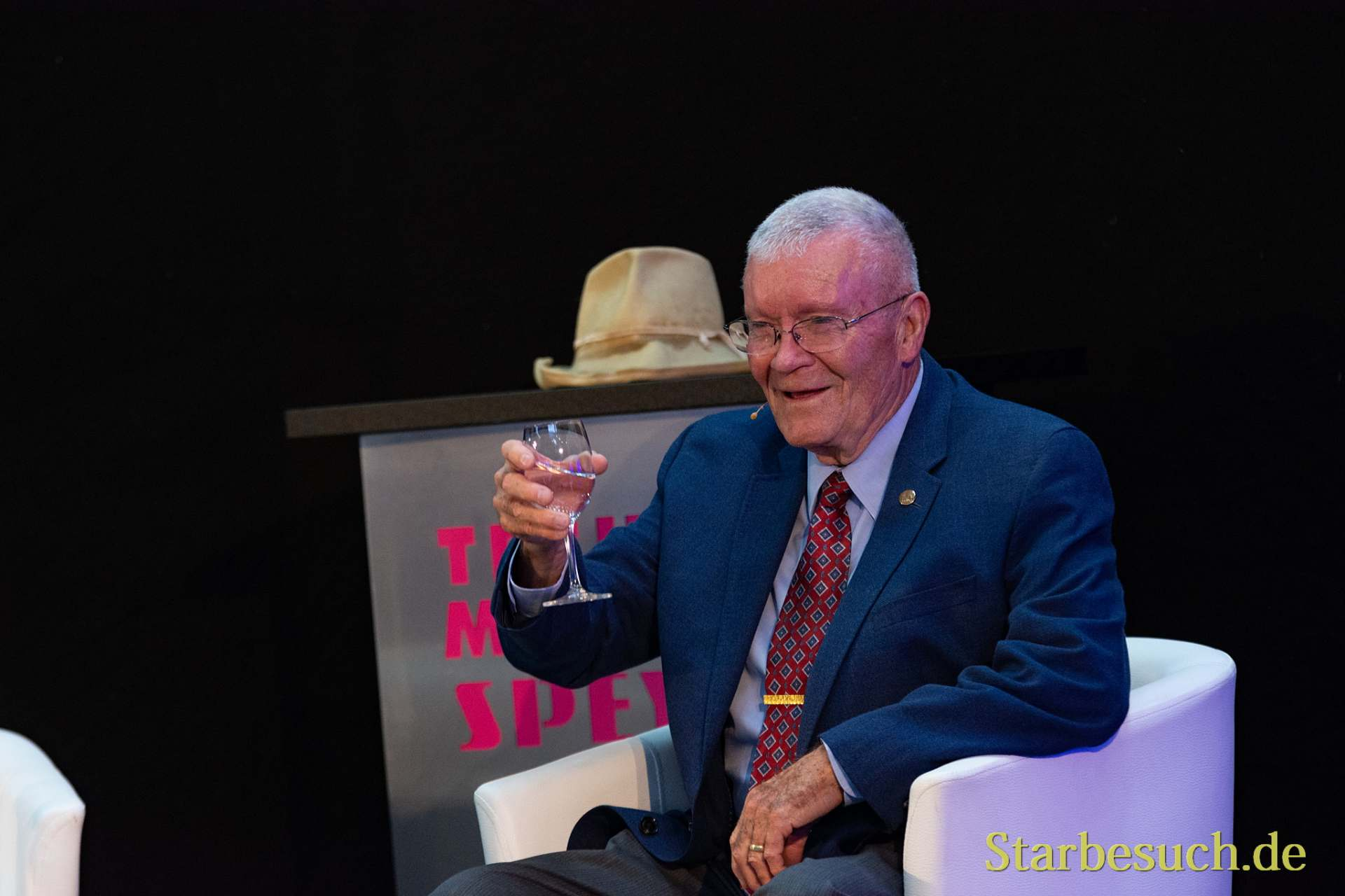 SPEYER, Germany - October 14th 2018: Fred Haise at Space Flight Day