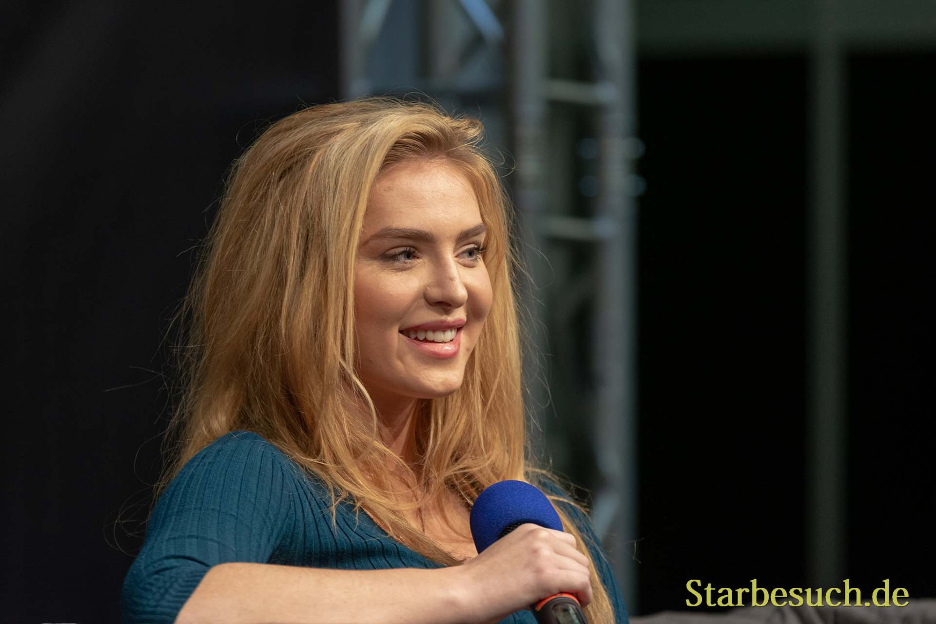DORTMUND, GERMANY - November 3rd 2018: Saxon Sharbino at Weekend of Hell 2018
