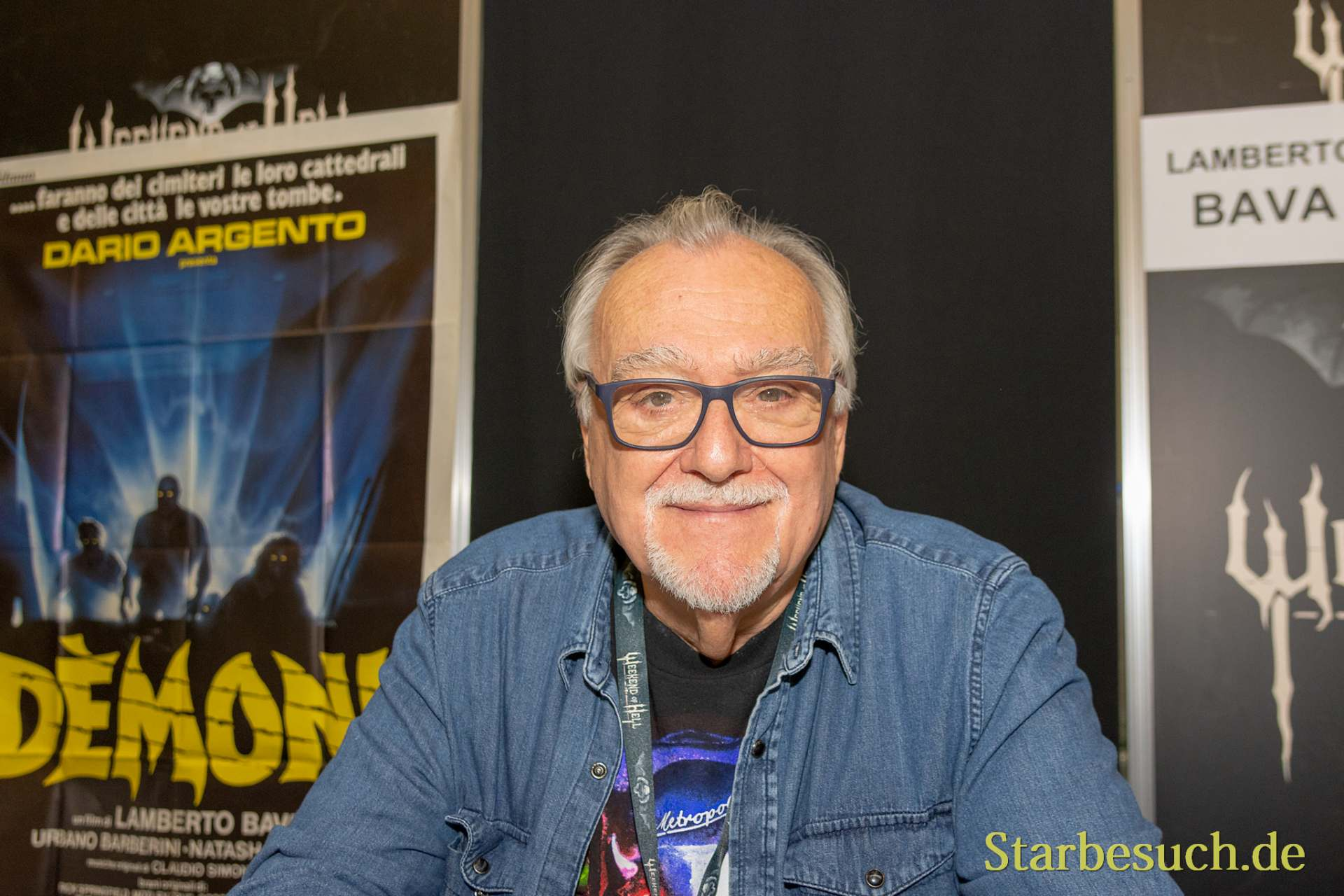 DORTMUND, GERMANY - November 3rd 2018: Lamberto Bava at Weekend of Hell 2018