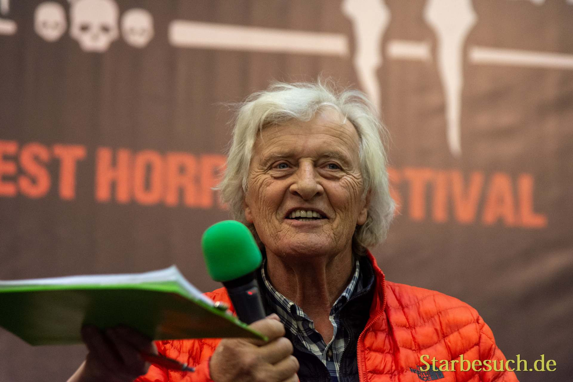 DORTMUND, GERMANY - November 3rd 2018: Rutger Hauer at Weekend of Hell 2018