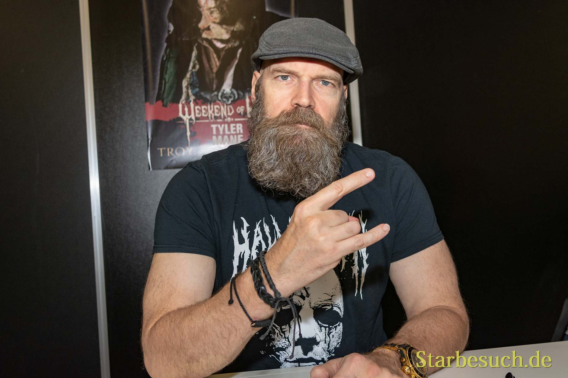 DORTMUND, GERMANY - November 3rd 2018: Tyler Mane at Weekend of Hell 2018