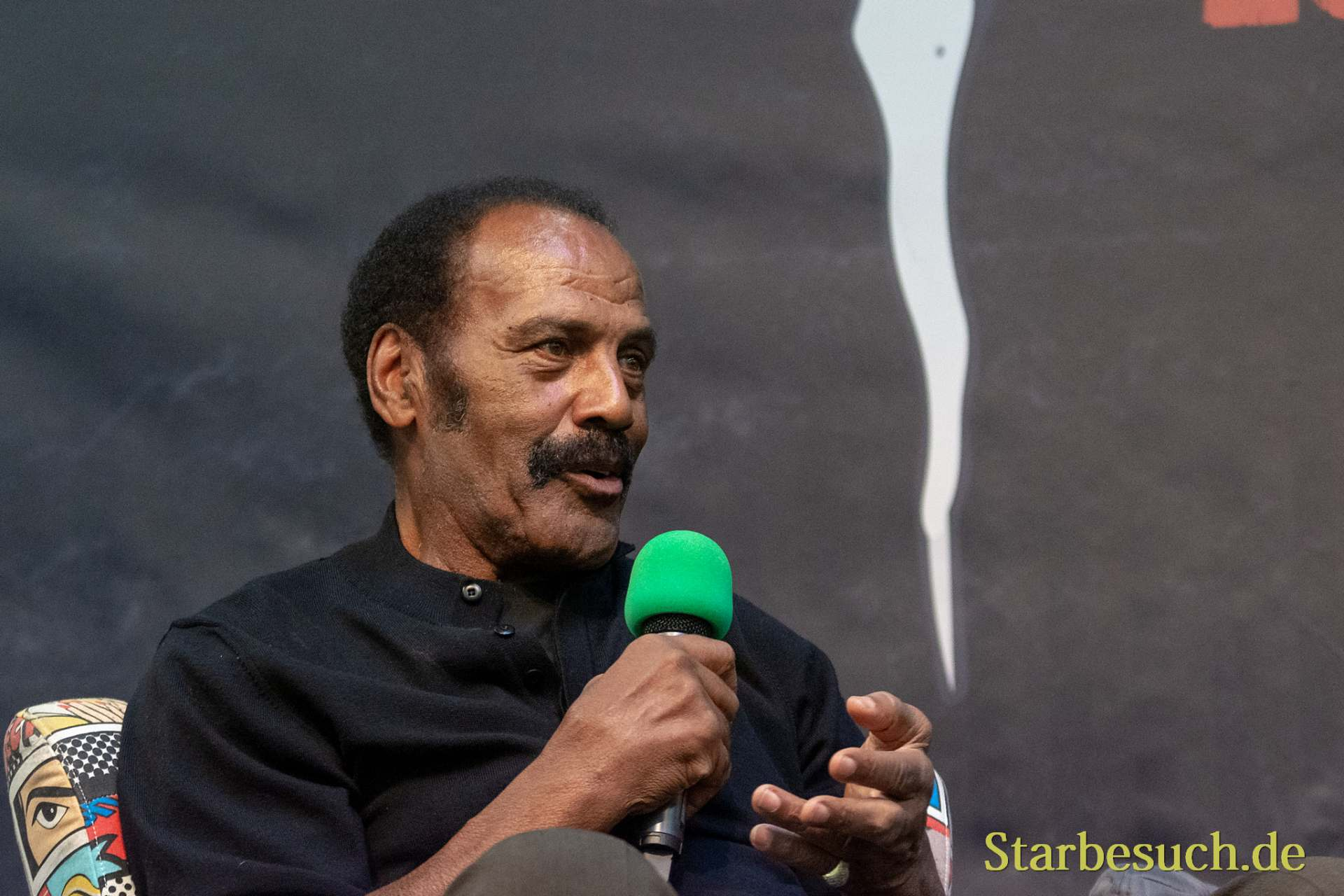 DORTMUND, GERMANY - November 3rd 2018: Fred Williamson at Weekend of Hell 2018
