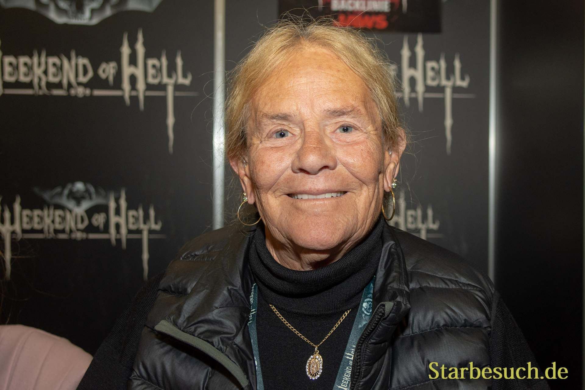 DORTMUND, GERMANY - November 3rd 2018: Susan Backlinie at Weekend of Hell 2018