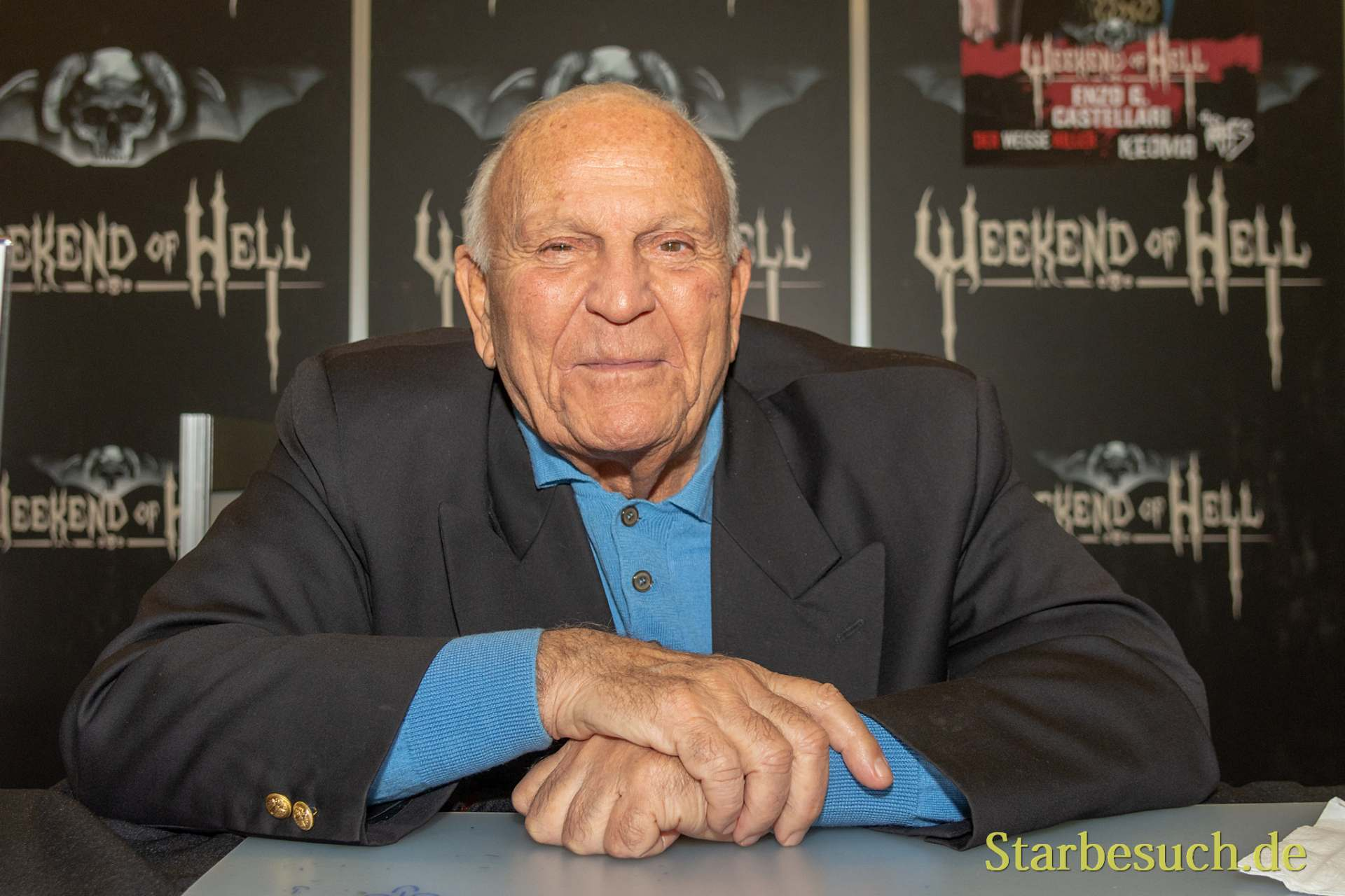 DORTMUND, GERMANY - November 3rd 2018: Enzo G. Castellari at Weekend of Hell 2018