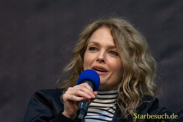 DORTMUND, GERMANY - November 3rd 2018: Dina Meyer at Weekend of Hell 2018