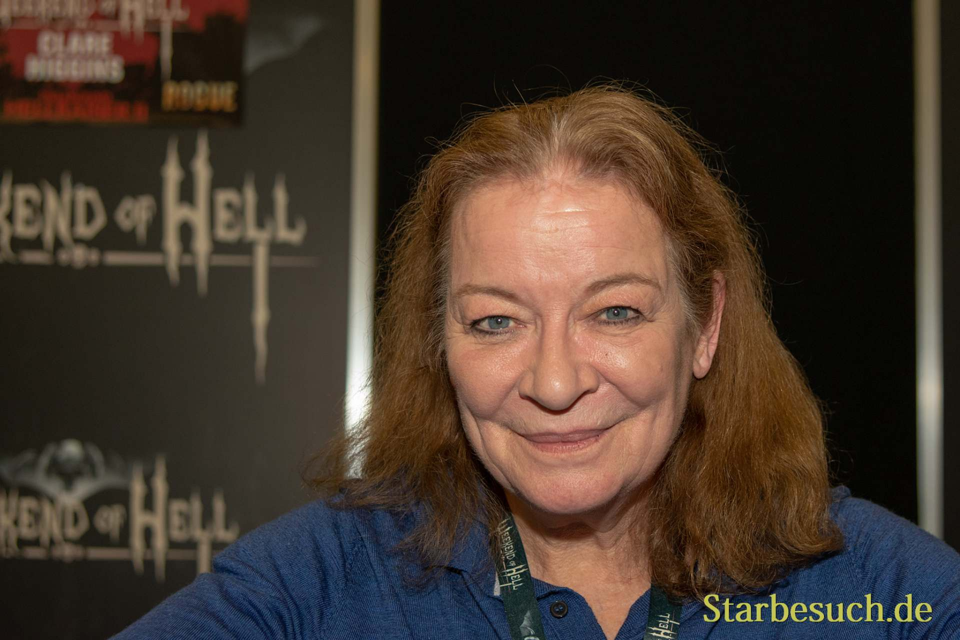 DORTMUND, GERMANY - November 3rd 2018: Clare Higgins at Weekend of Hell 2018