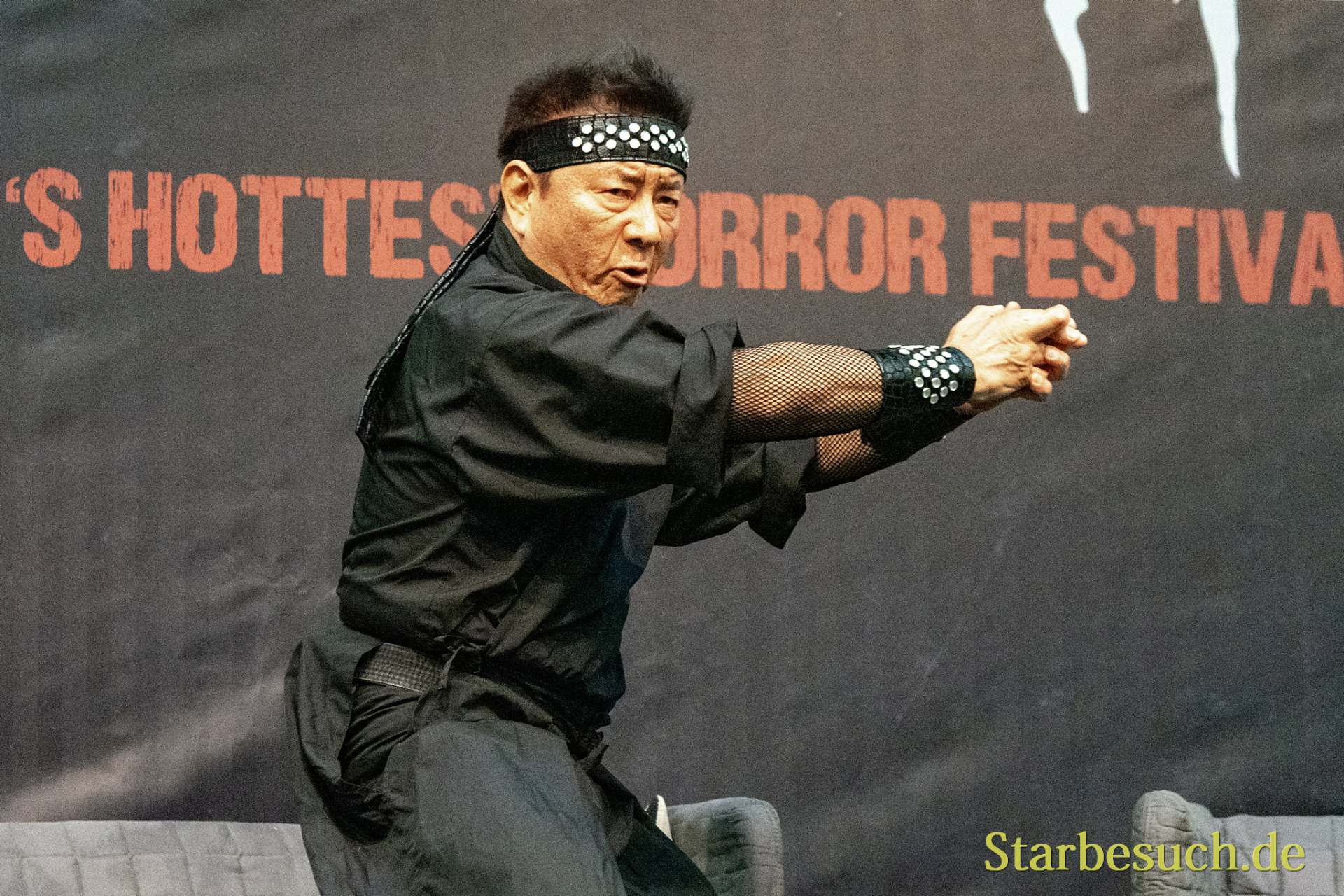 DORTMUND, GERMANY - November 3rd 2018: Sho Kosugi at Weekend of Hell 2018