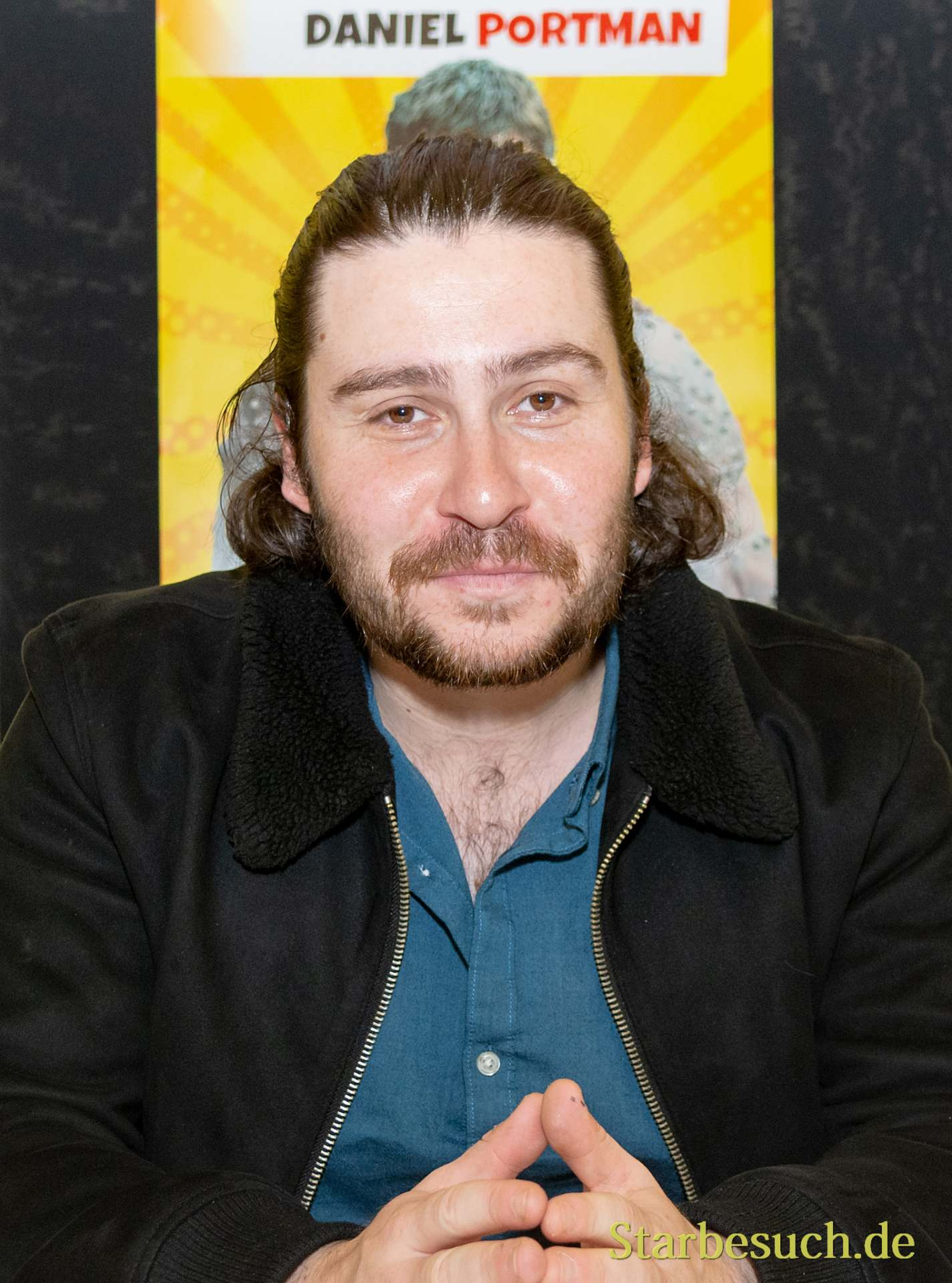 DORTMUND, GERMANY - December 1st 2018: Daniel Portman (*1992, Scottish actor) at German Comic Con Dortmund, a two day fan convention