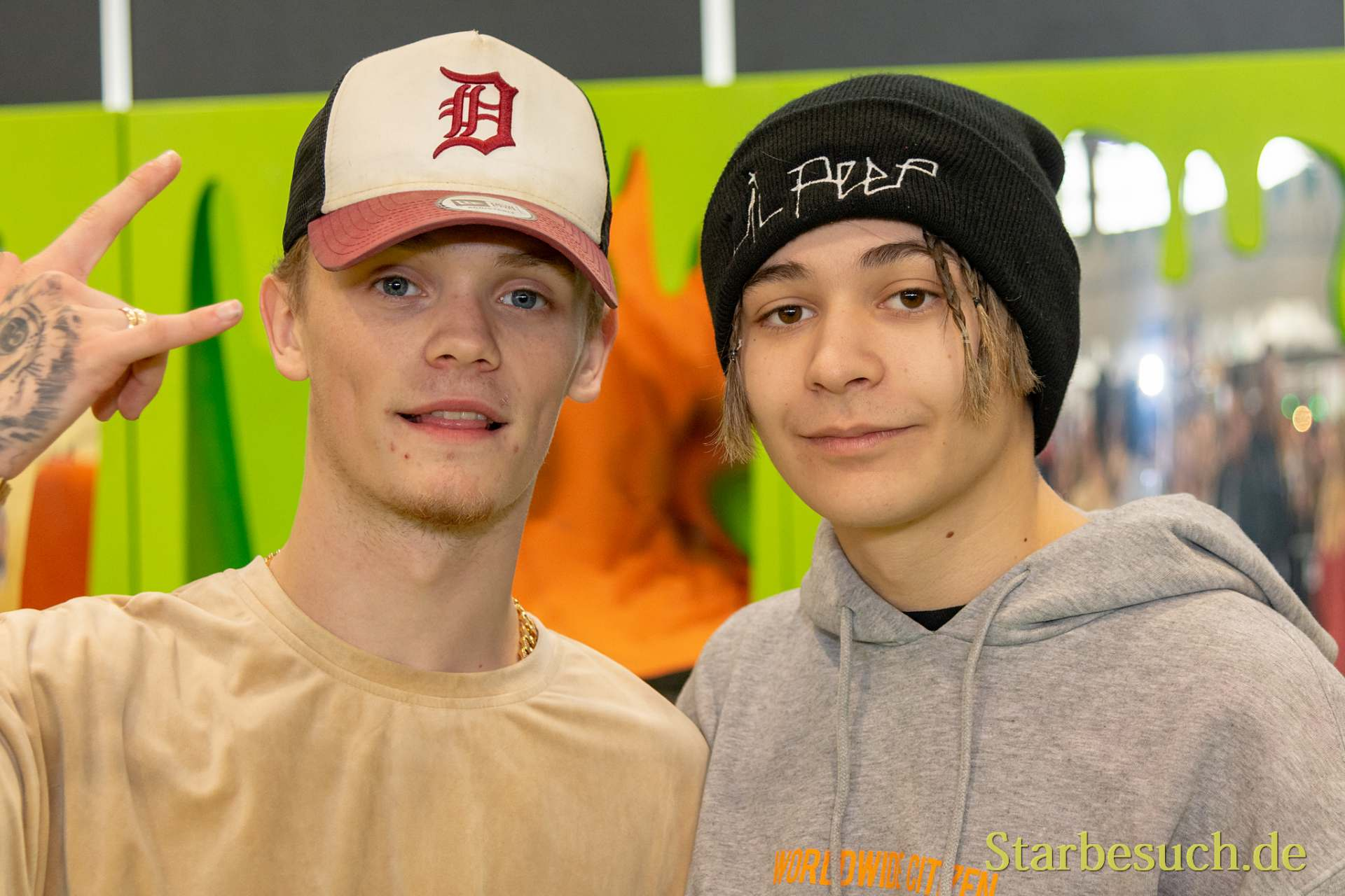 DORTMUND, GERMANY - December 1st 2018: Bars & Melody at German Comic Con Dortmund, a two day fan convention
