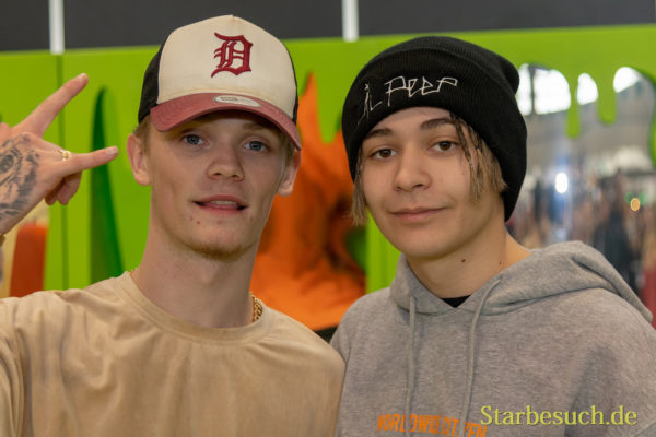 DORTMUND, Germany - December 1st 2018: Bars & Melody at Nickelodeon Slimefest 2018