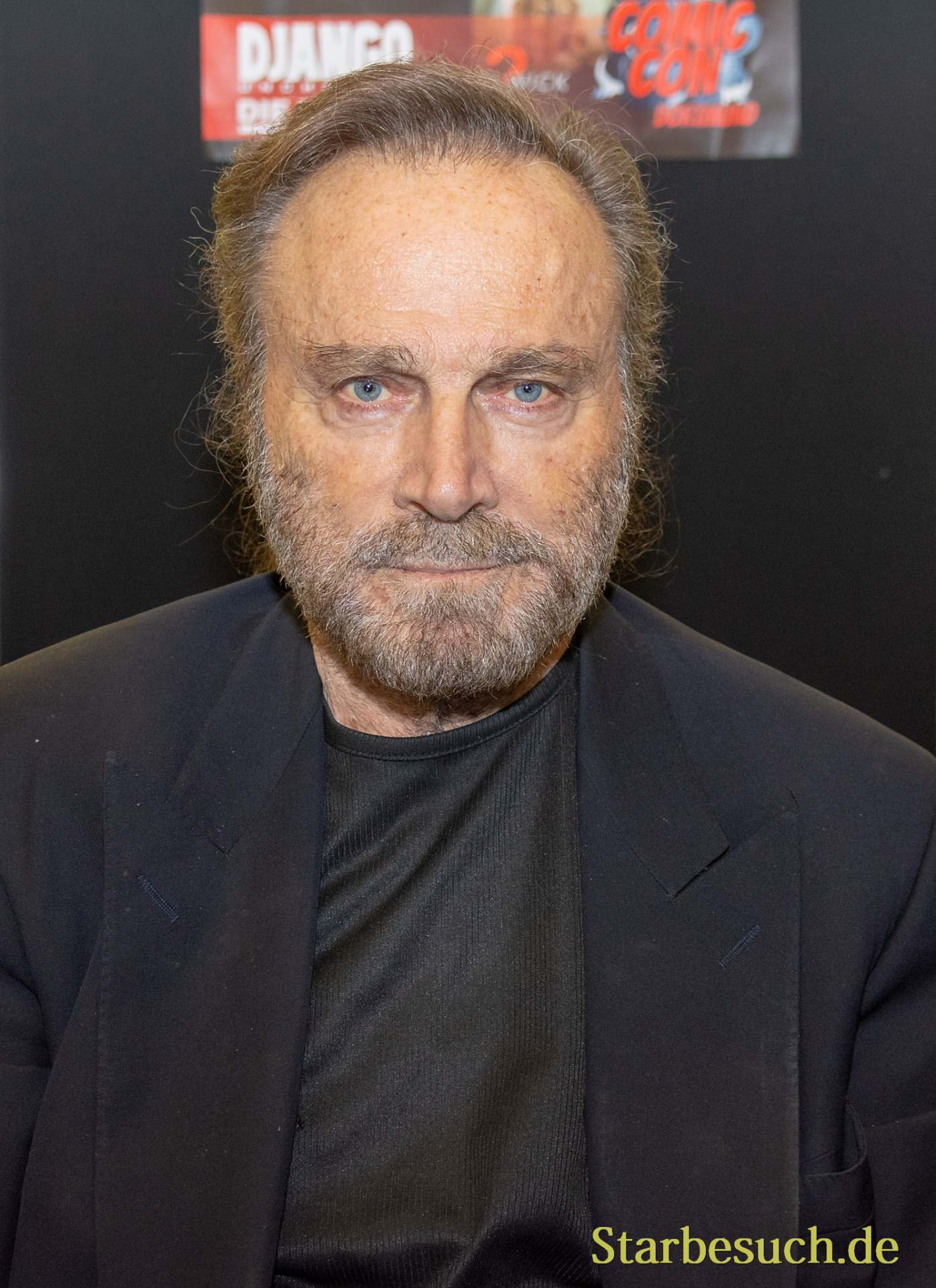 DORTMUND, GERMANY - December 1st 2018: Franco Nero (*1941, Italian actor) at German Comic Con Dortmund, a two day fan convention