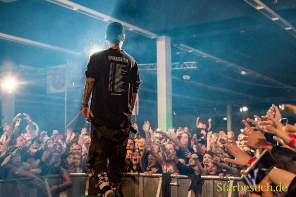 DORTMUND, Germany - December 1st 2018: Mike Singer at Nickelodeon Slimefest 2018