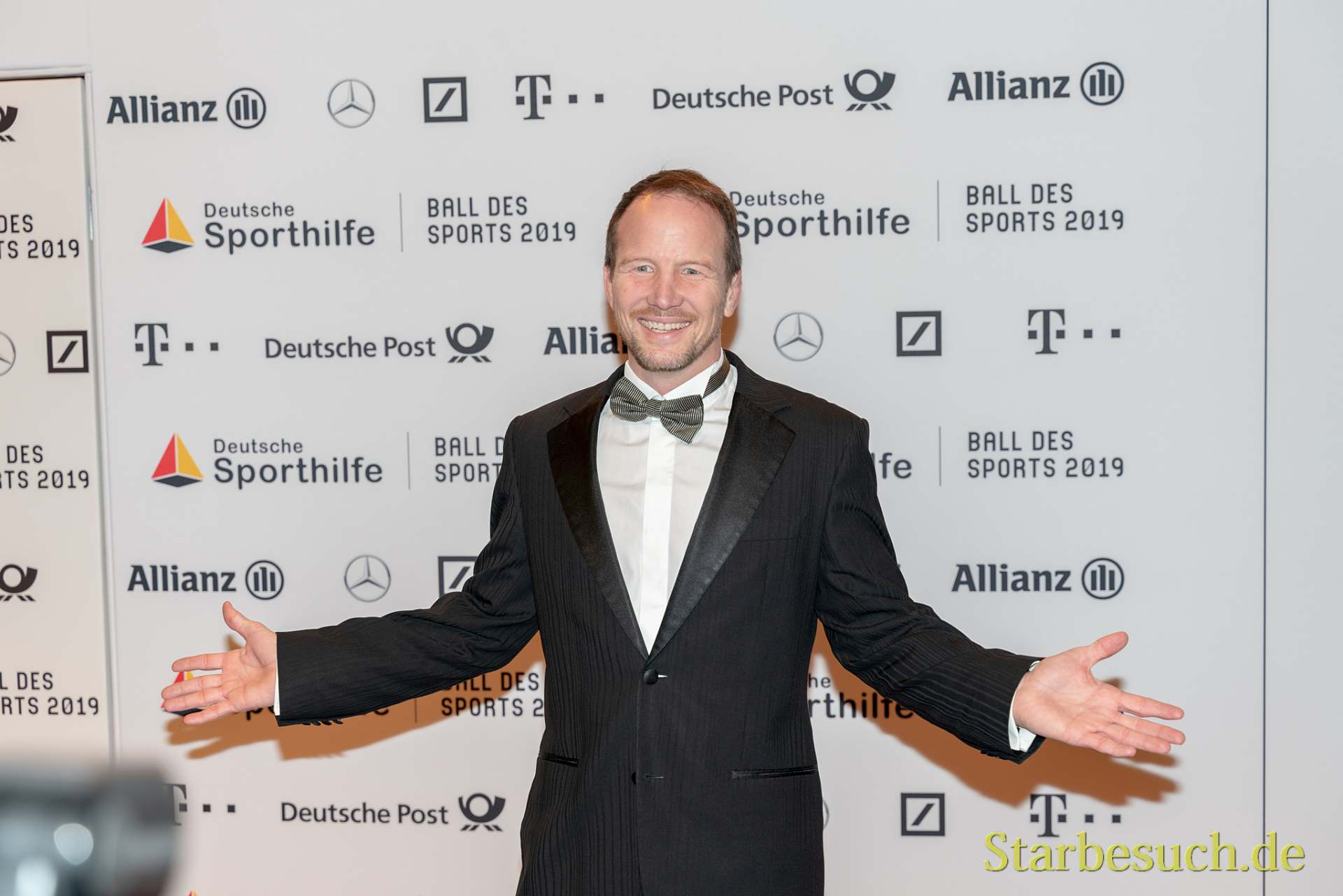 WIESBADEN, Germany - February 2nd, 2019: Alexander Leipold at Ball des Sports 2019