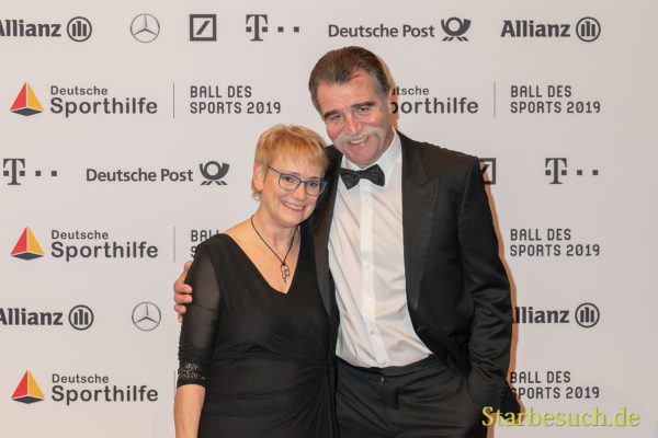 WIESBADEN, Germany - February 2nd, 2019: Heiner Brand (*1952, German handball player and coach) at Ball des Sports 2019