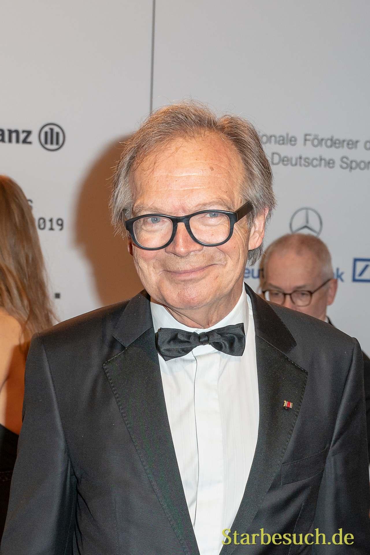 WIESBADEN, Germany - February 2nd, 2019: Werner Klatten (*1945, Stiftung Deutsche Sporthilfe) at Ball des Sports 2019