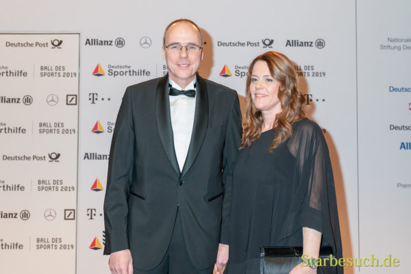 WIESBADEN, Germany - February 2nd, 2019: Peter Beuth (*1967, German politician) at Ball des Sports 2019