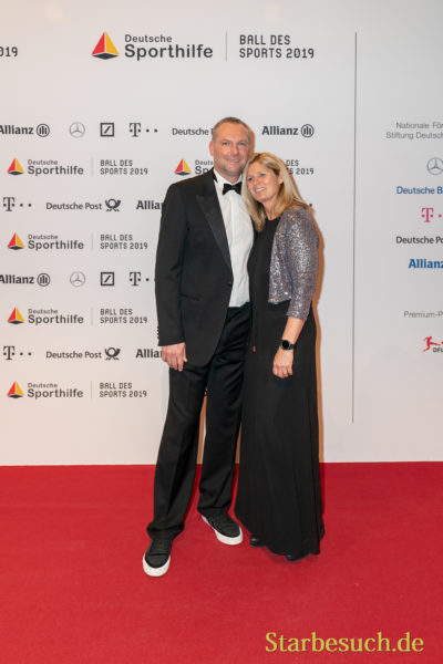 WIESBADEN, Germany - February 2nd, 2019: Christian Schwarzer (*1969, ) at Ball des Sports 2019