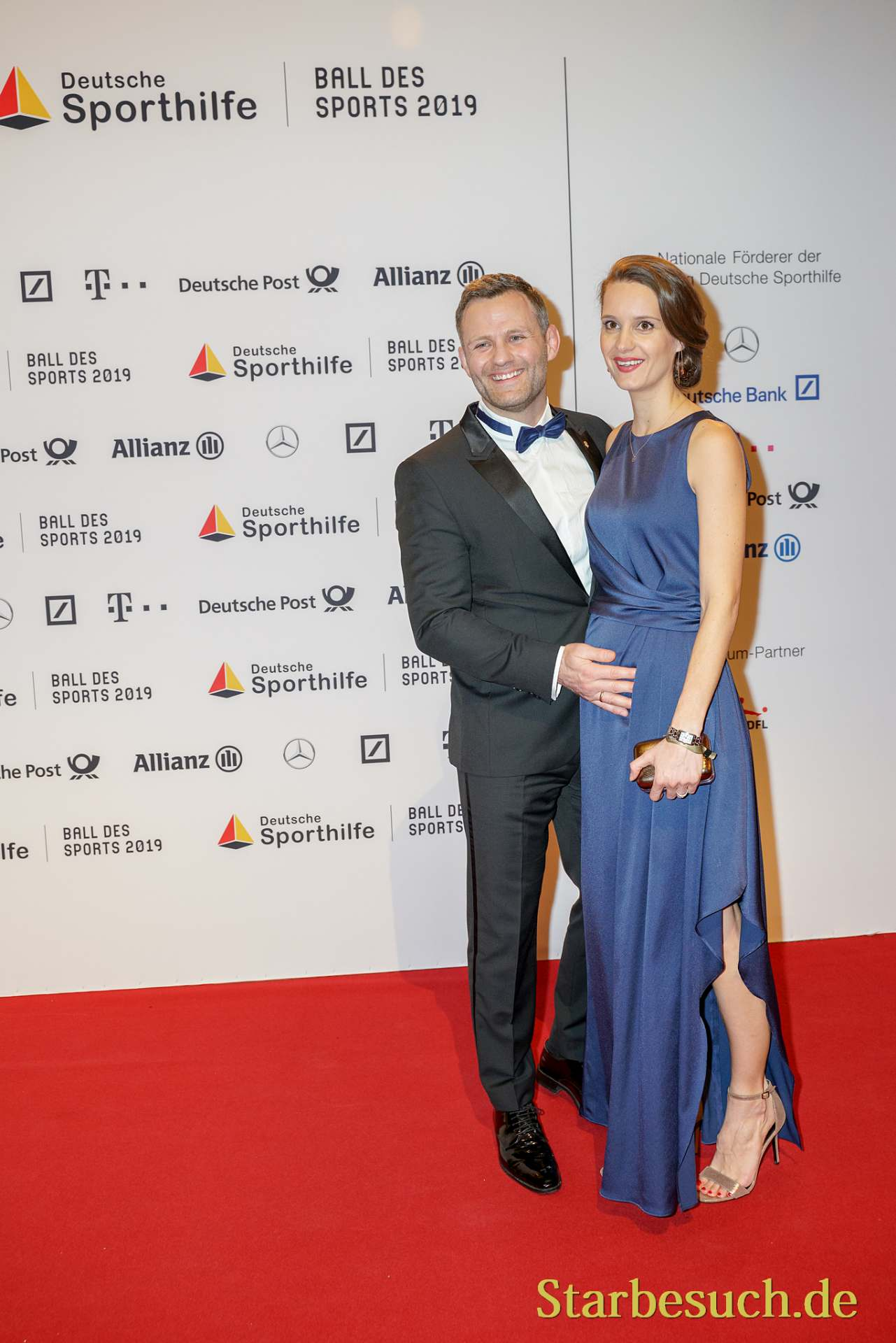 WIESBADEN, Germany - February 2nd, 2019: Ole Bischof at Ball des Sports 2019