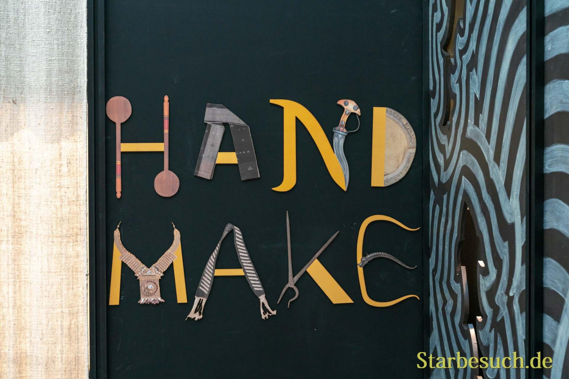 Impressionen der Ambiente: Hand Make in India, Austellung des Gastlandes