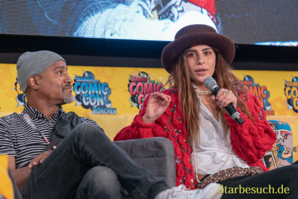 Seth Gilliam, Nadia Hilker - German Comic Con 2019