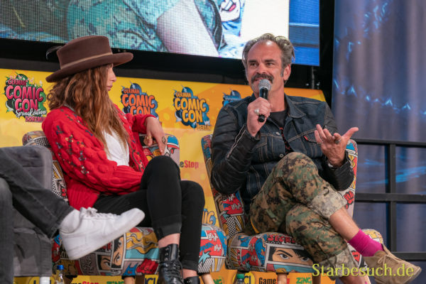 Nadia Hiker, Steven Ogg - German Comic Con 2019