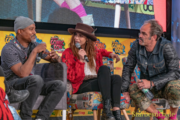 Walking Dead Panel - German Comic Con 2019