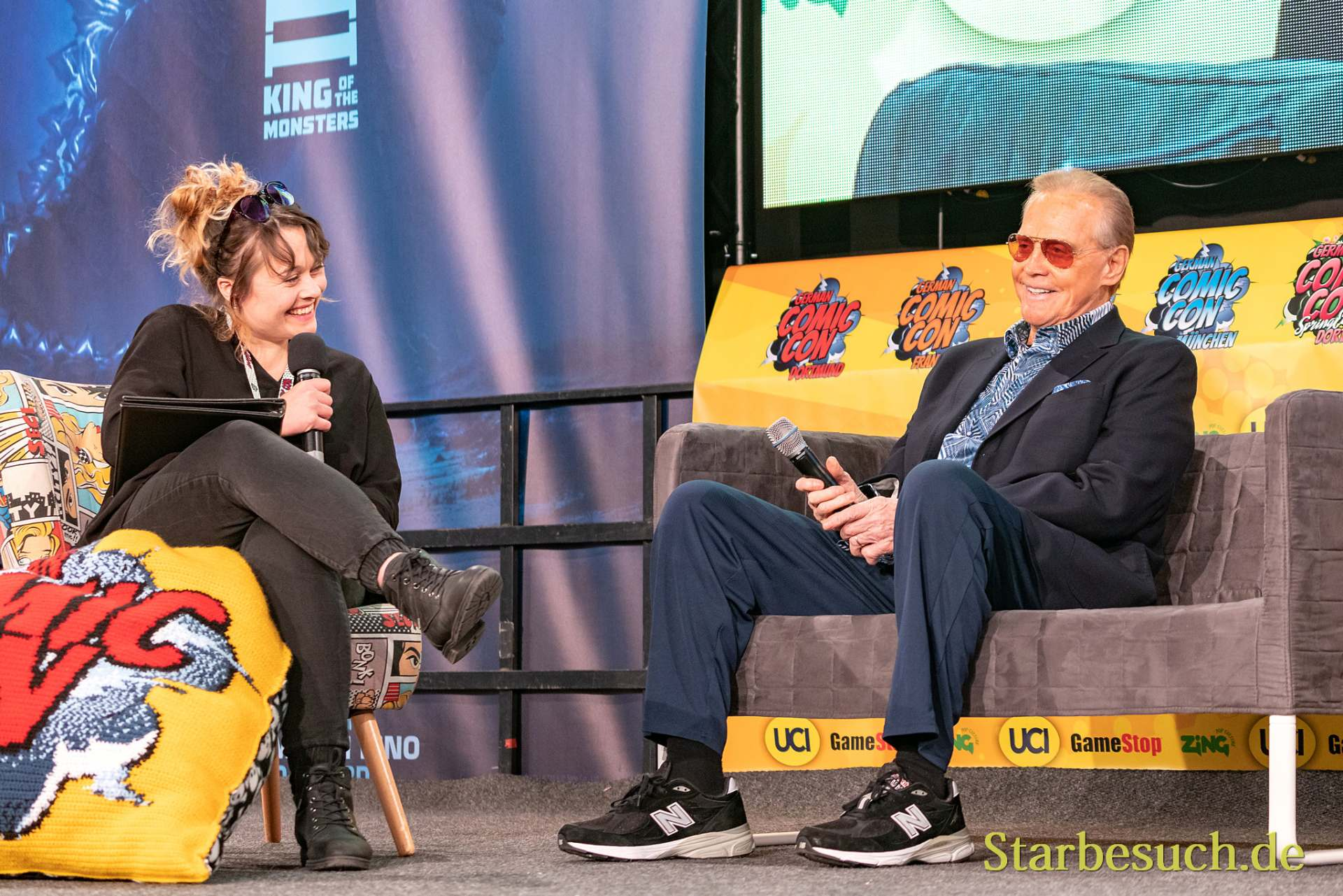 Lee Majors - German Comic Con 2019