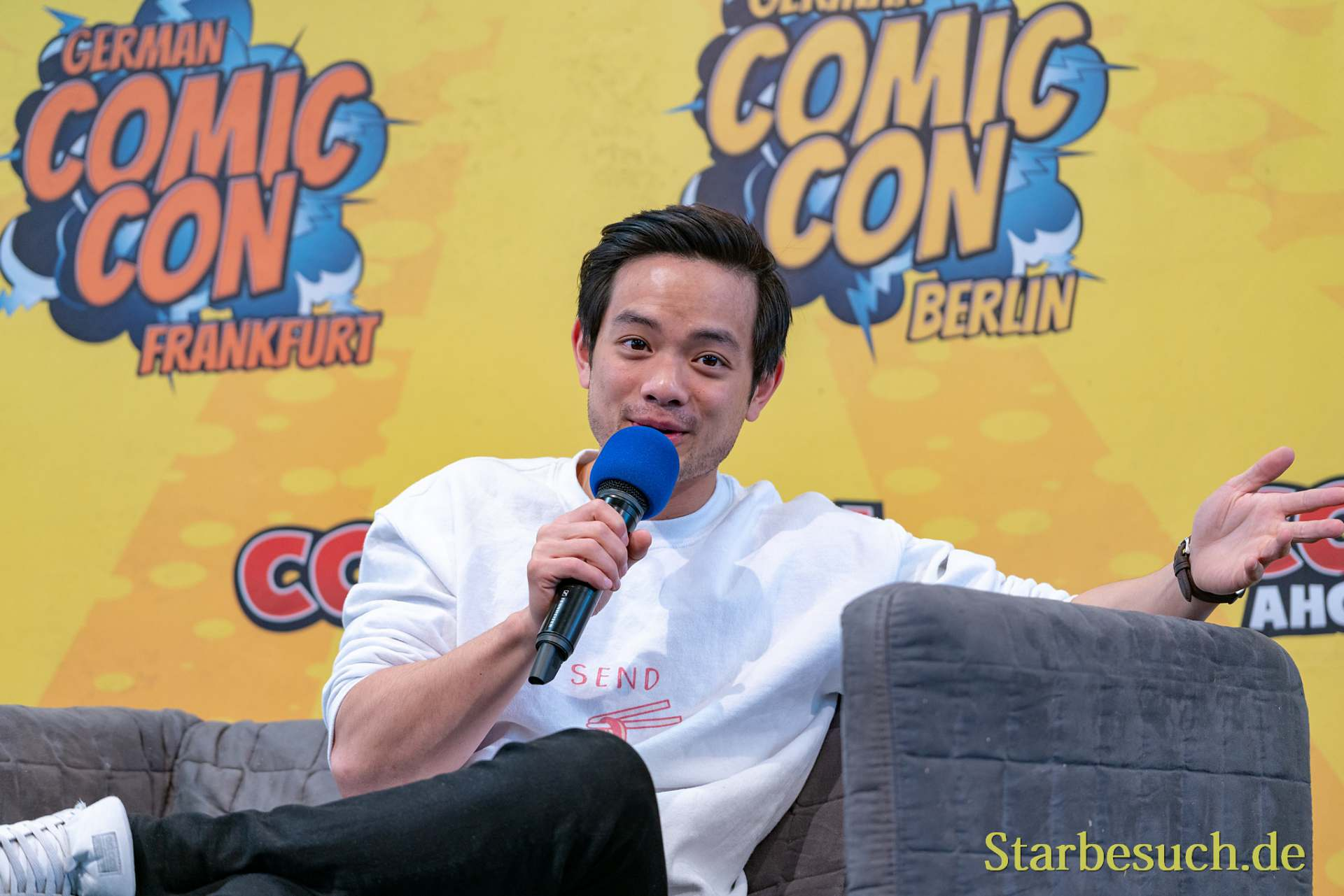 Osric Chau - German Comic Con 2019