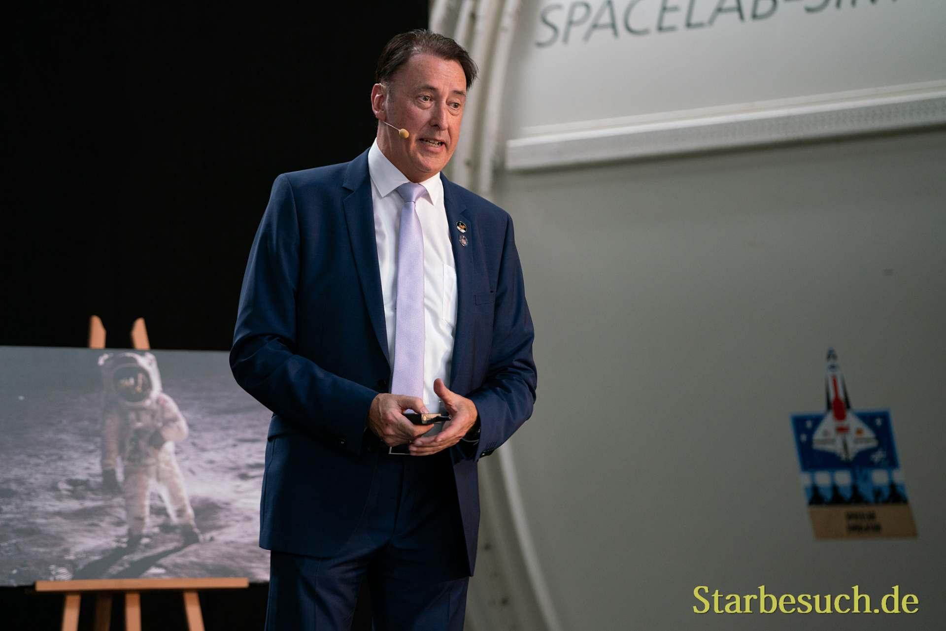 Gerhard Daum, Leiter Raumfahrtaustellung Speyer