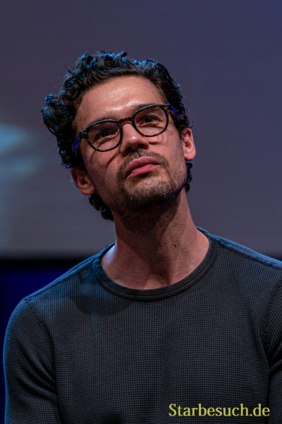 Bonn, Germany - June 8 2019: Steven Strait (*1986, American actor and model - The Expanse) at FedCon 28, a four day sci-fi convention. FedCon 28 took place Jun 7-10 2019.
