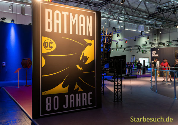 COLOGNE, GERMANY - JUN 28th 2019: Impressions from CCXP Cologne: Celebrating 80 Years of Batman