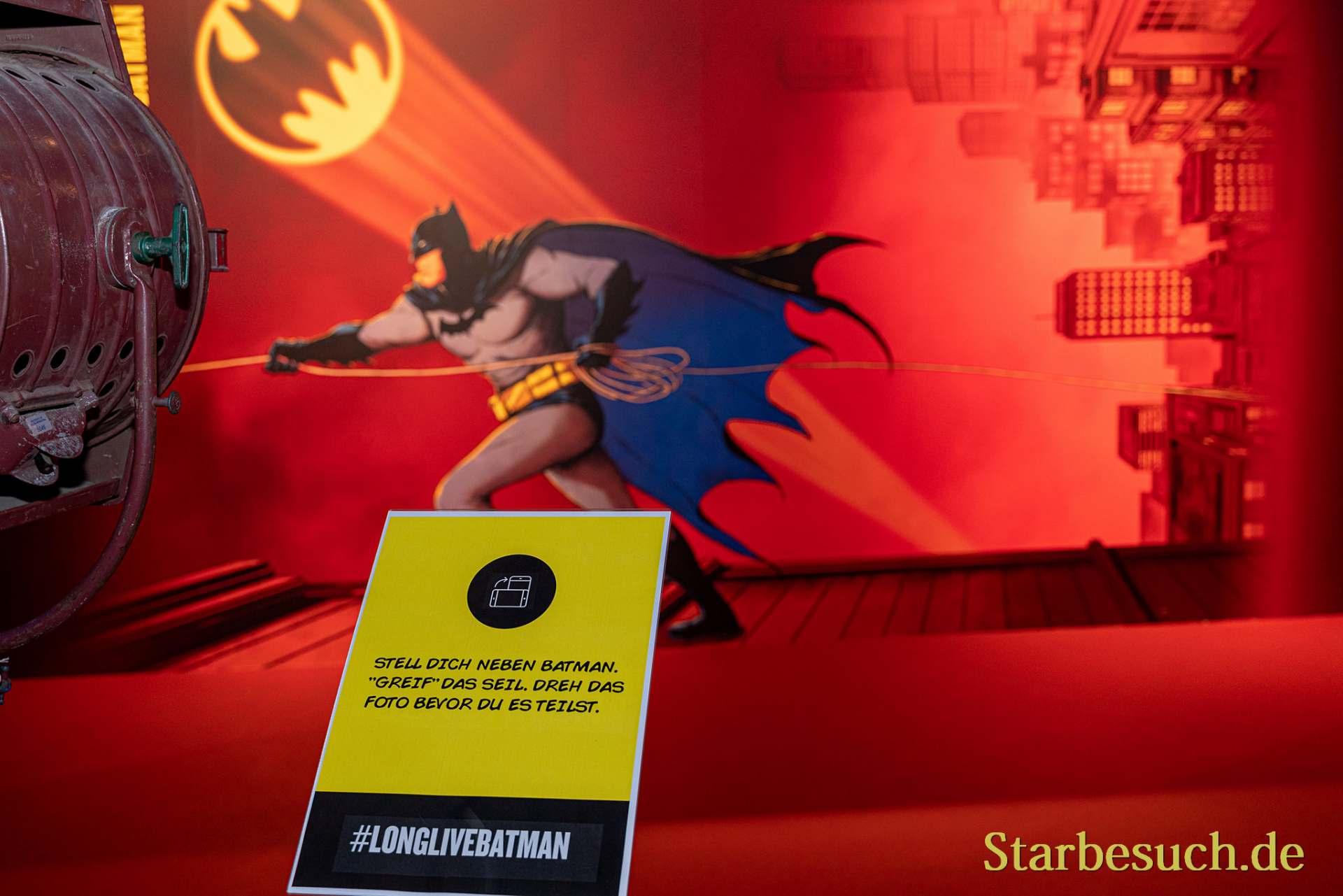 COLOGNE, GERMANY - JUN 28th 2019: Batman Photo Point at CCXP Cologne