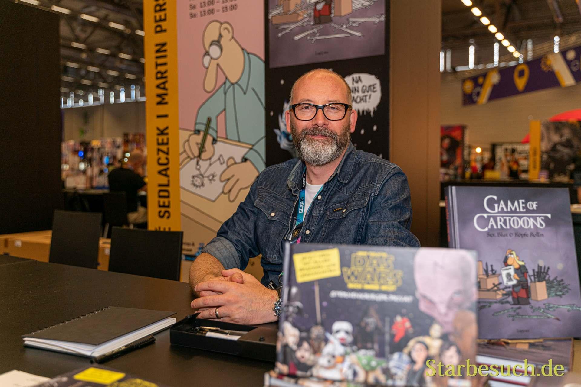 COLOGNE, GERMANY - JUN 28th 2019: André Sedlaczek at CCXP Cologne