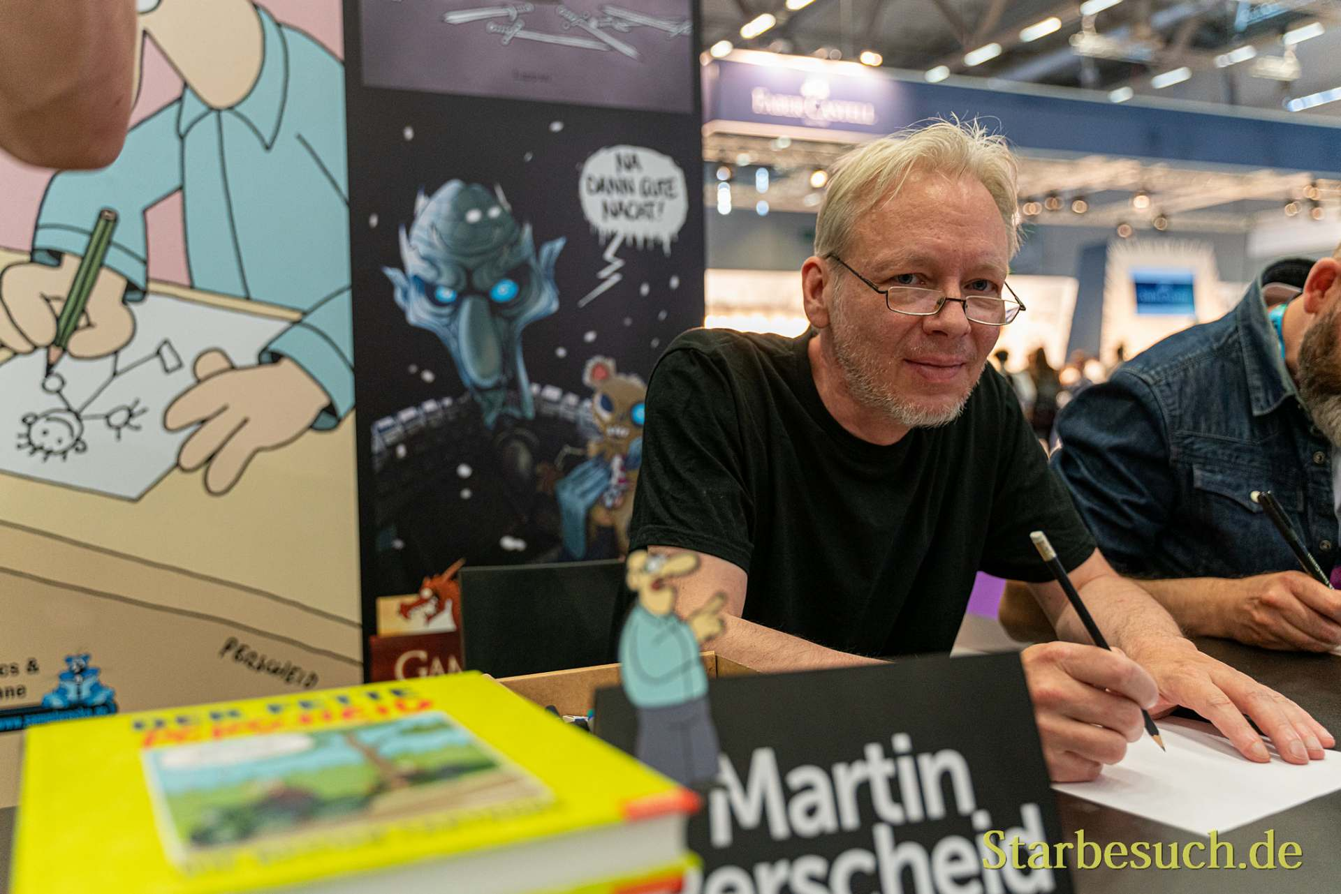 COLOGNE, GERMANY - JUN 28th 2019: Martin Perscheid at CCXP Cologne