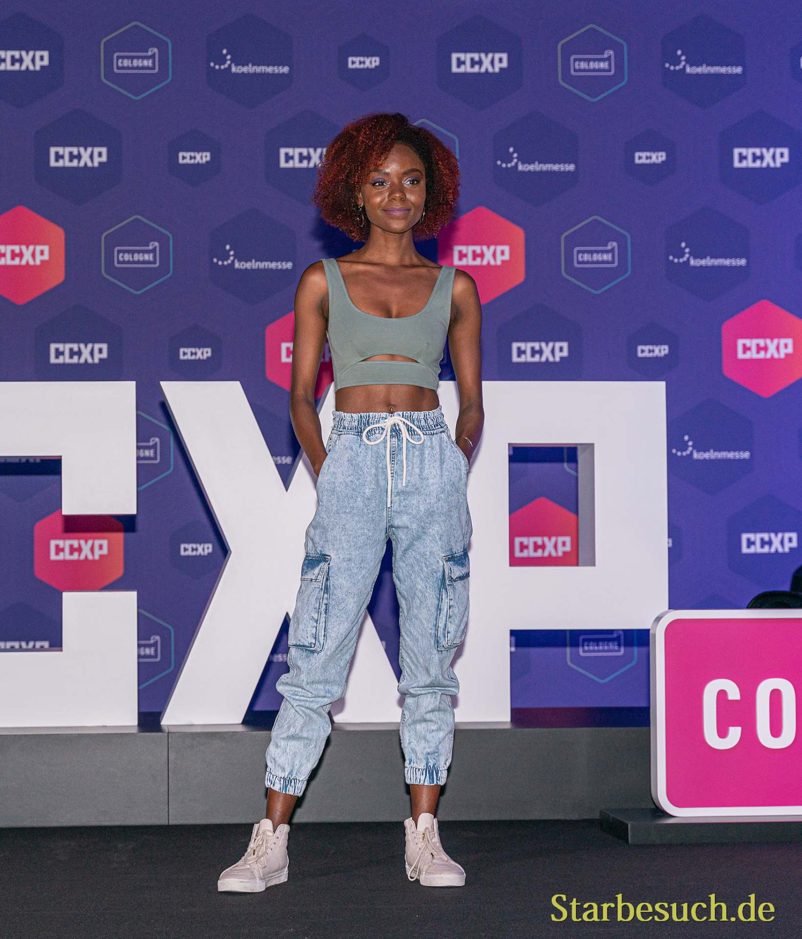 COLOGNE, GERMANY - JUN 28th 2019: Ashleigh Murray at CCXP Cologne