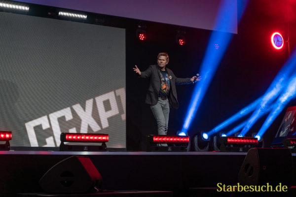 COLOGNE, GERMANY - JUN 28th 2019: Mark Pellegrino at CCXP Cologne