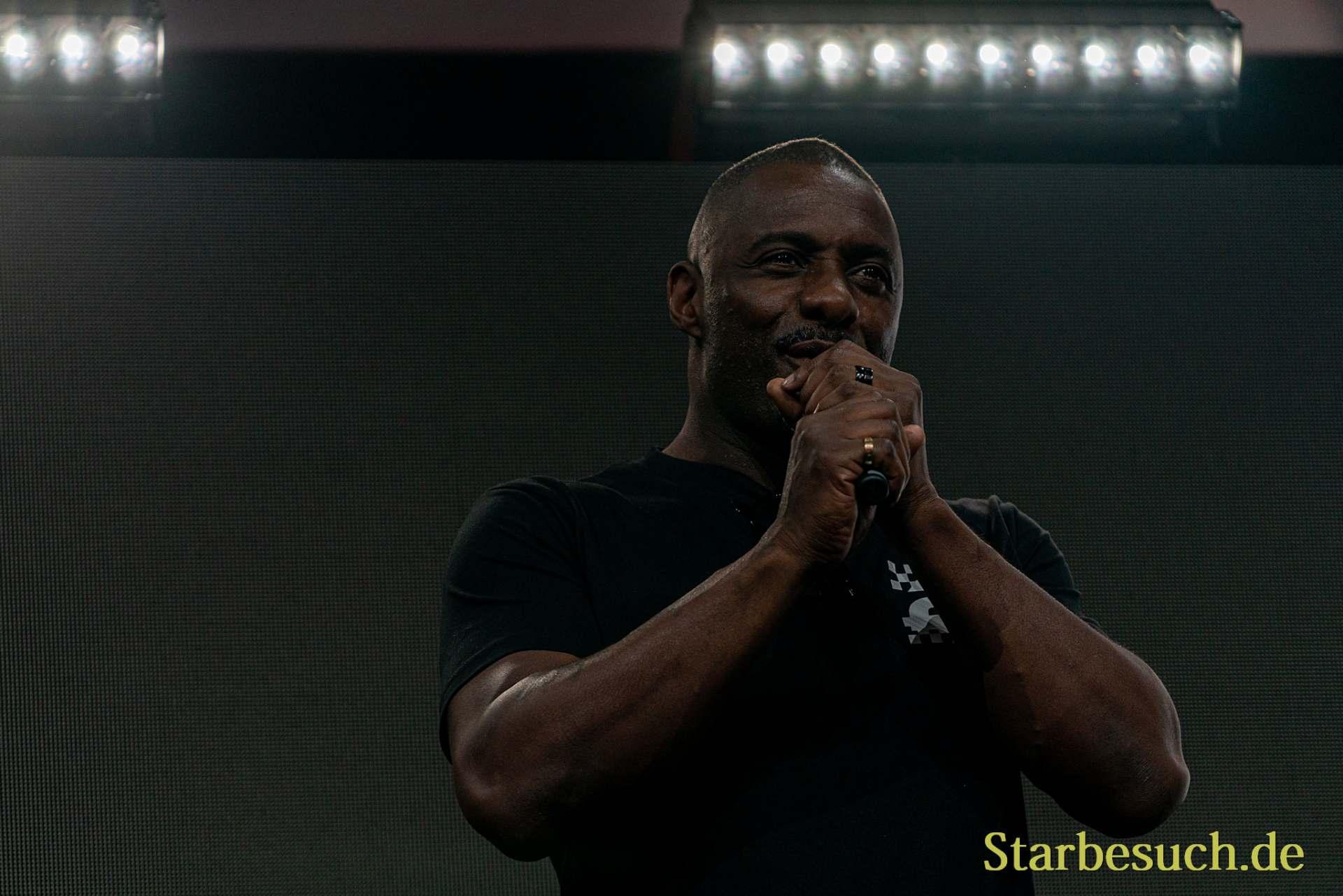COLOGNE, GERMANY - JUN 28th 2019: Idris Elba at CCXP Cologne