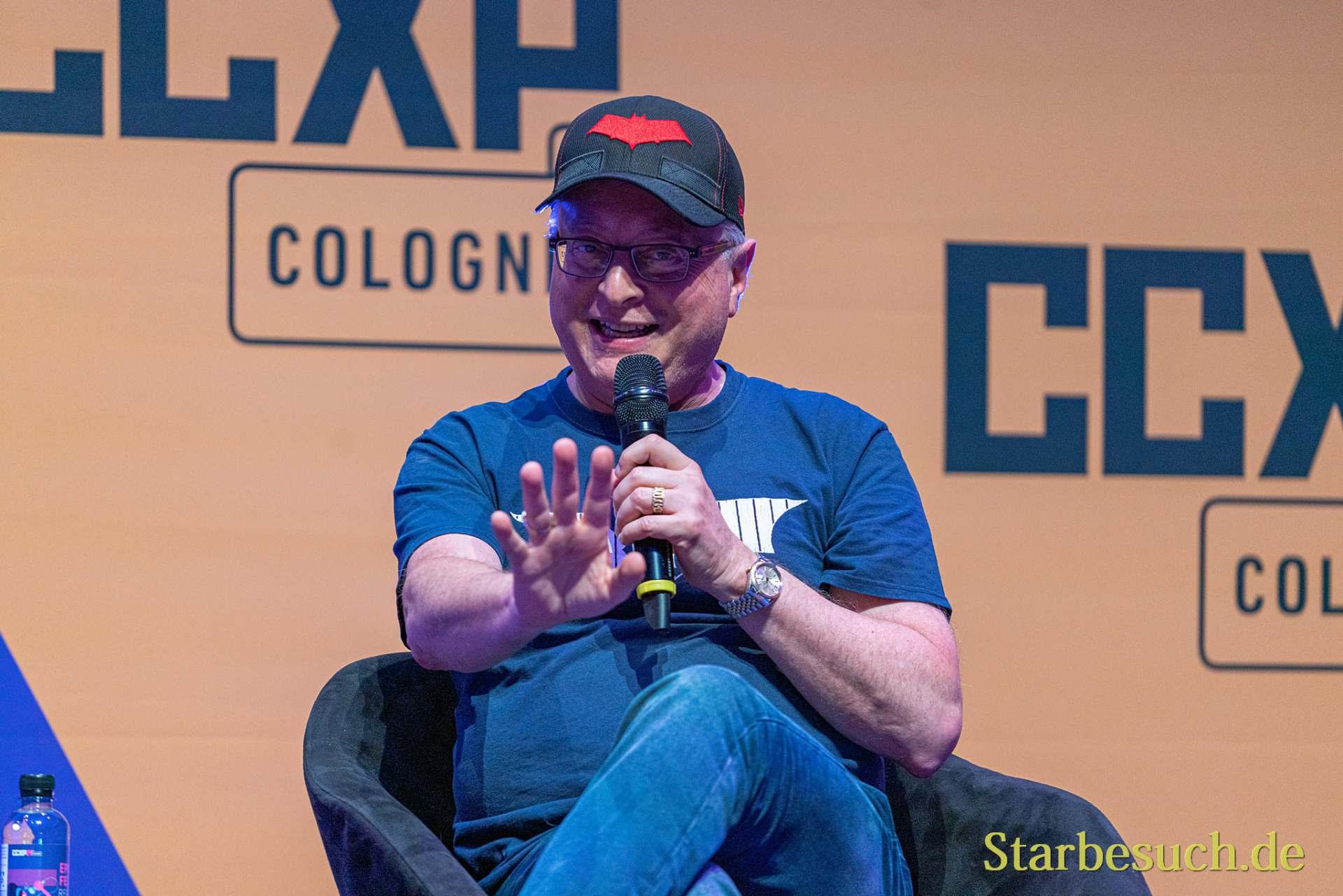 COLOGNE, GERMANY - JUN 28th 2019: Michael Uslan at CCXP Cologne