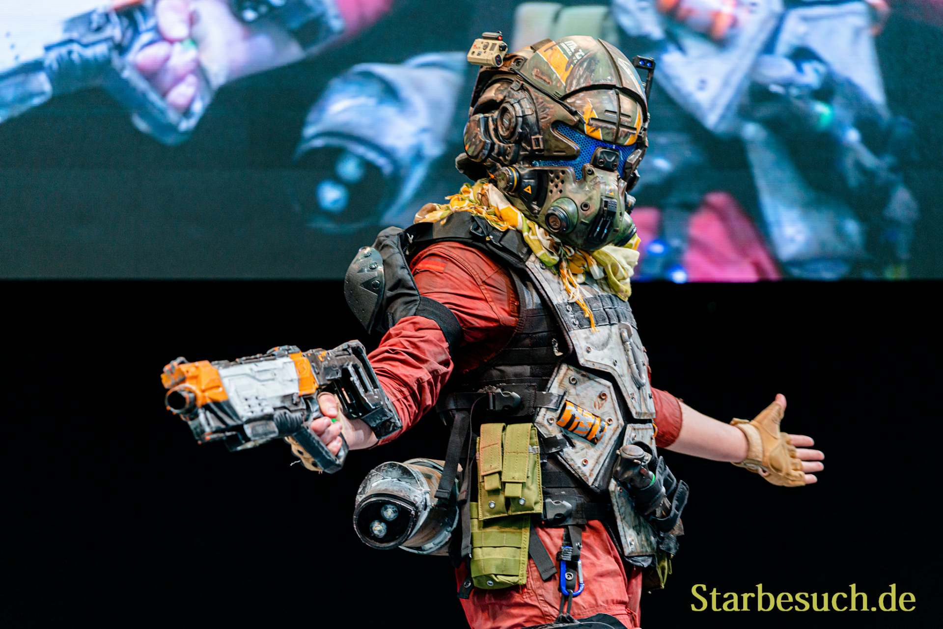 Cosplay Contest #14: Reskort as Jack Cooper from Titanfall 2