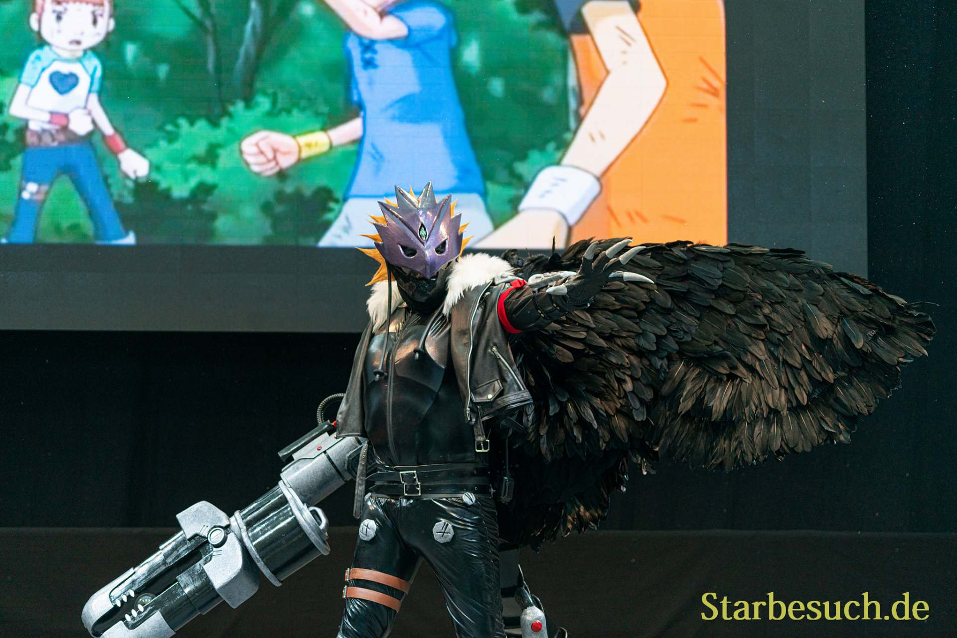 Cosplay Contest #15: PNCosplay as Beelzemon Blastmode from Digimon Tamers