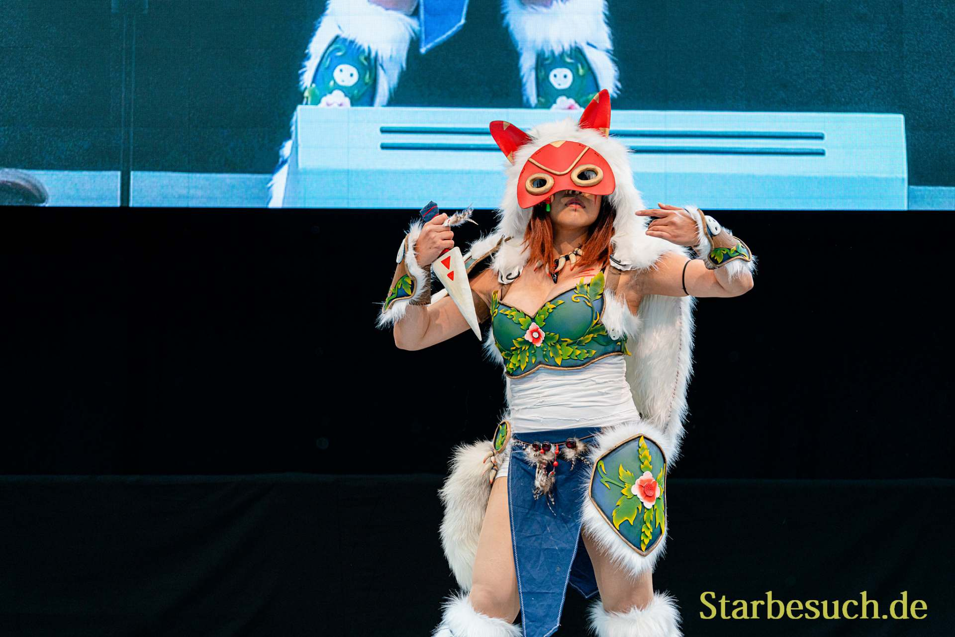 Cosplay Contest #17: Sunnyma Cosplay as Battle Princess Mononoke from Princess Mononoke