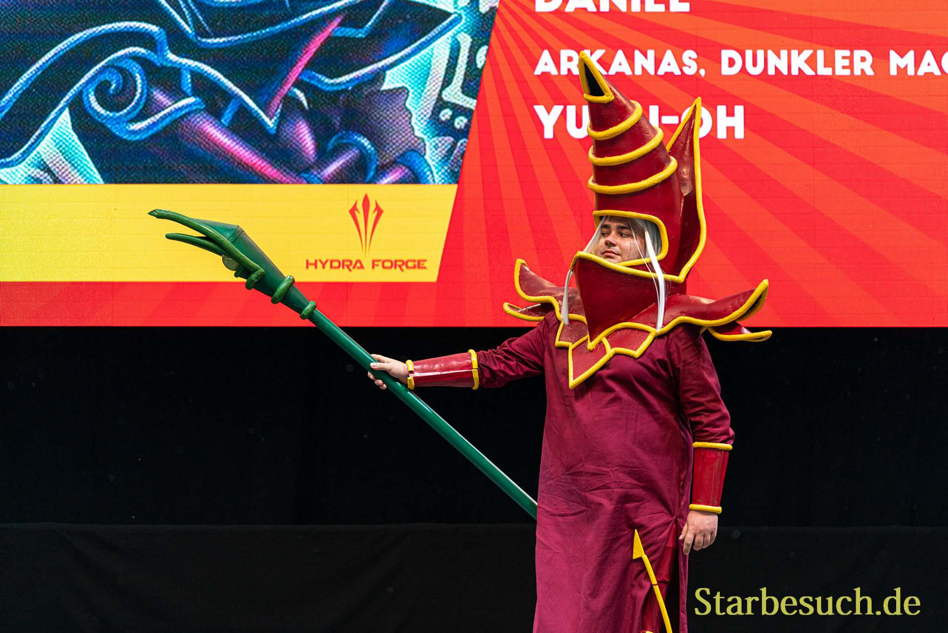 Cosplay Contest #24: Daniel as Arkansas, Dunkler Magier from Yu-Gi-Oh