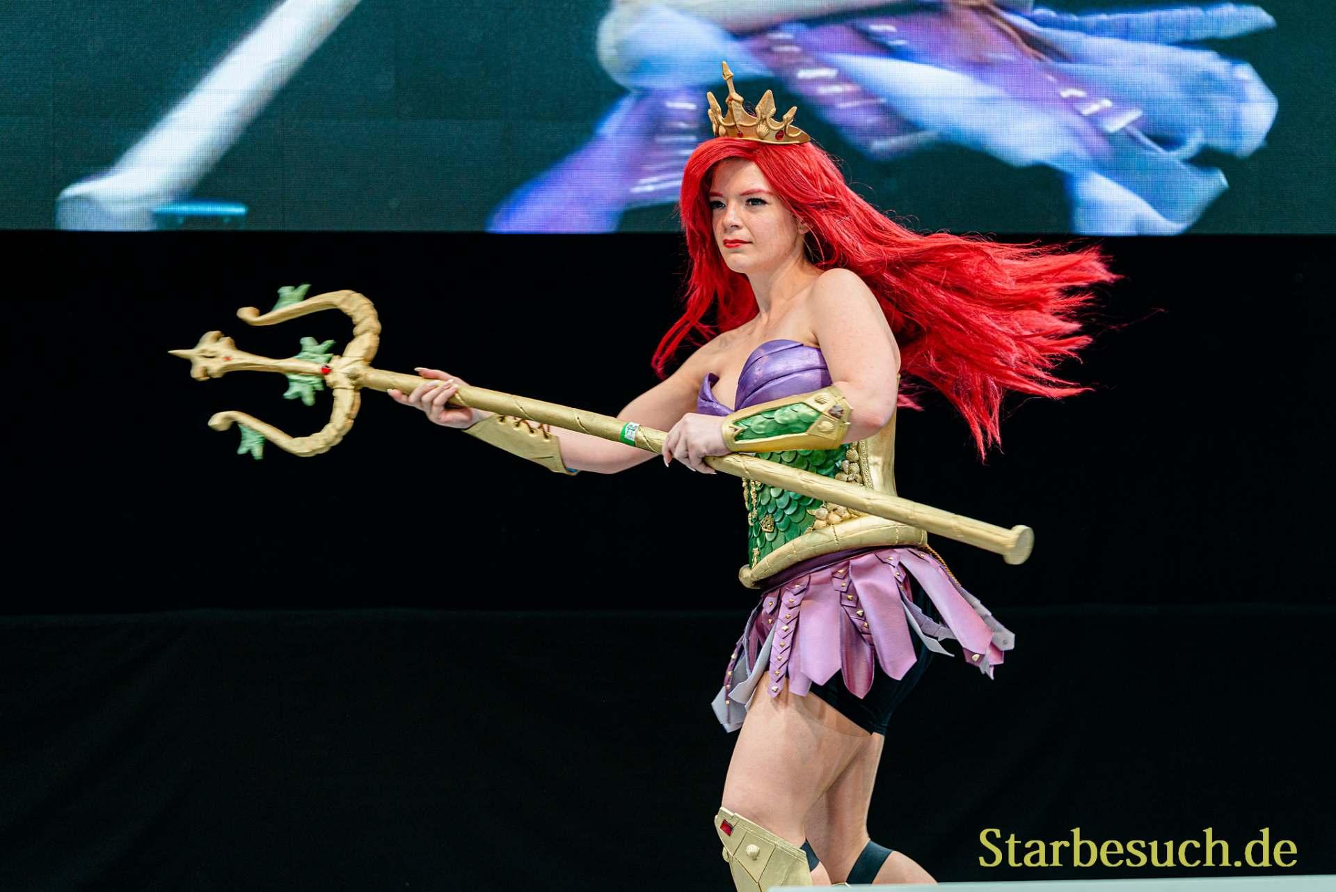 Cosplay Contest #28: Cessa Cosplay as Warrior Arielle from Arielle die Meerjungfrau