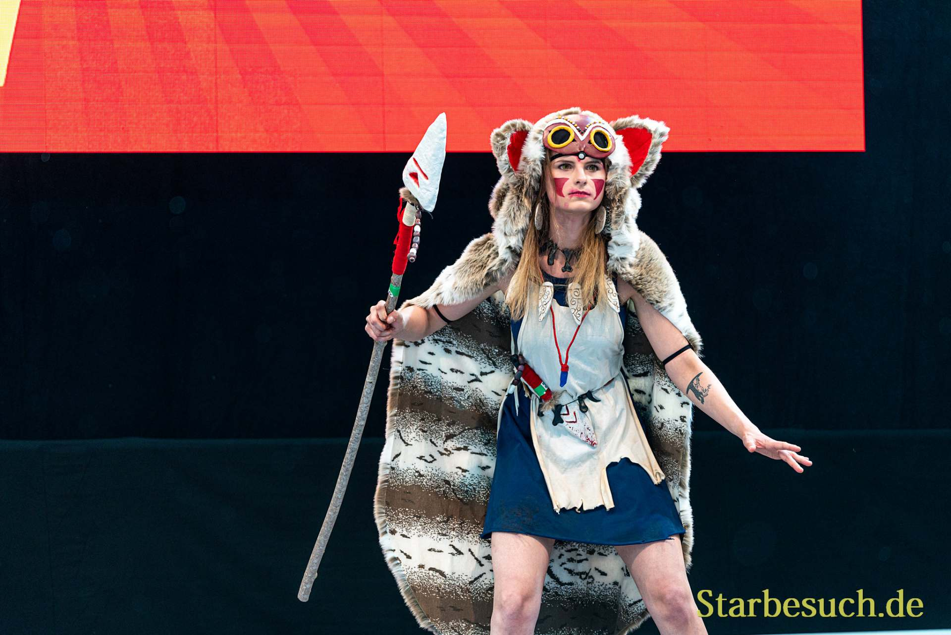 Cosplay Contest #31: Crowdedshadow Cosplay as San from Princess Mononoke