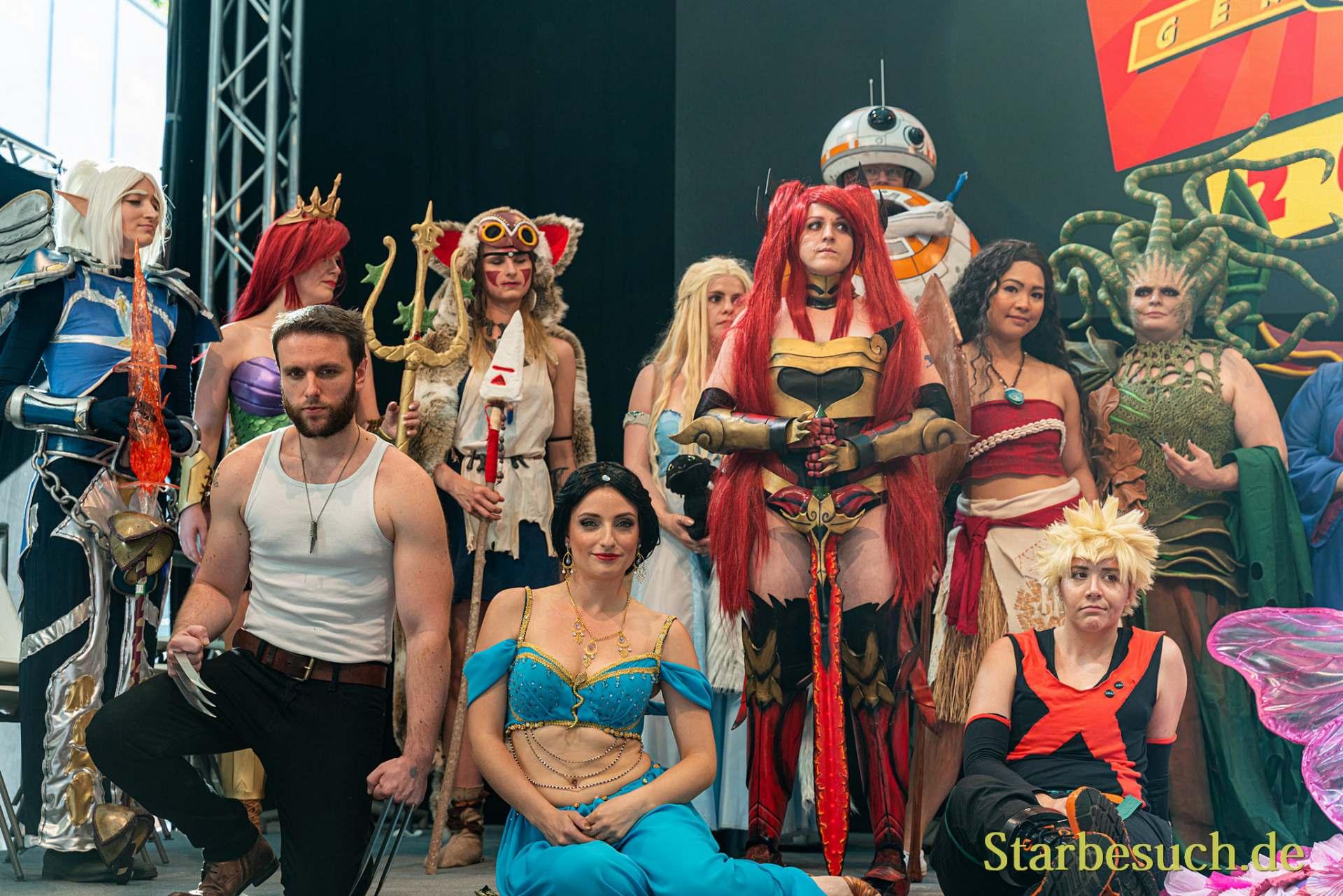 Cosplay Contest: Teilnehmer