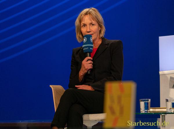 Dagmar Leupold auf der ARD Bühne