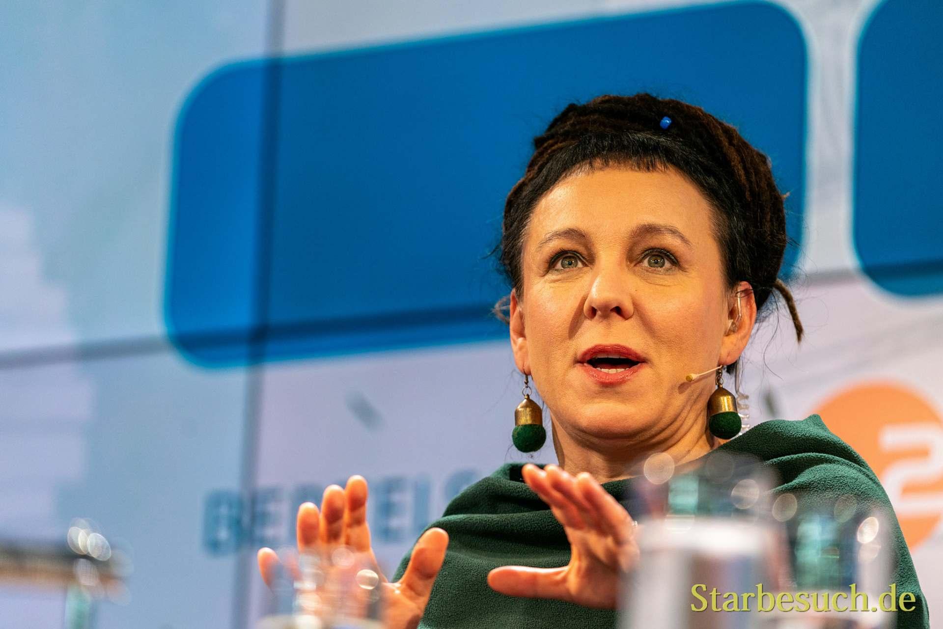 Nobelpreisträgerin 2018: Olga Tokarczuk