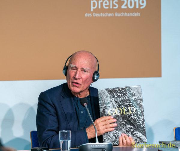 Fotograf Sebastião Salgado, Friedenspreisträger d. deutschen Buchhandels 2019