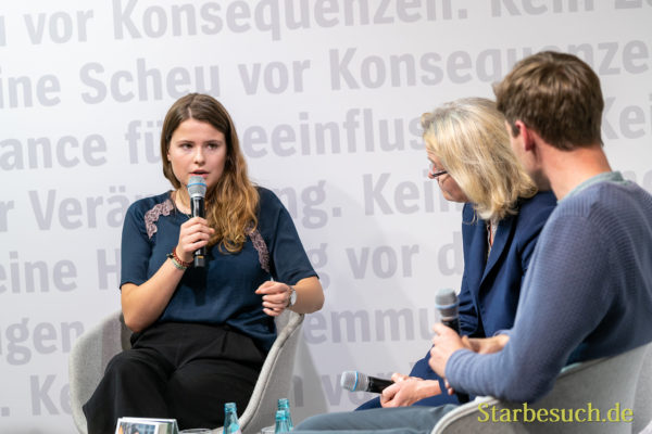 Klimawandel: Topthema bei Alexander Repenning and Luisa Neubauer